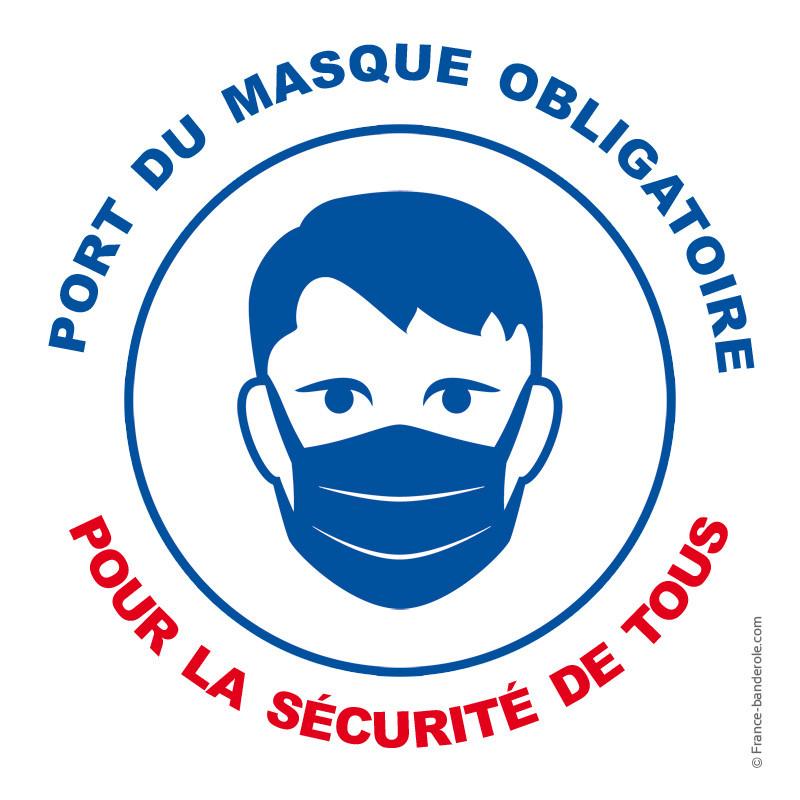 Arrêté préfectoral pour le port du masque